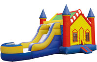inflatable bouncer slide & house